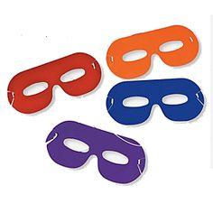 TMNT Party: Eye Masks 4 Pk