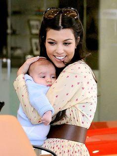 Kourt's a good mom ! <3