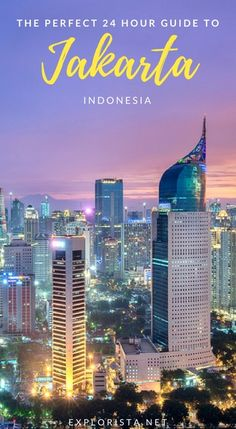 Traveling to the capital of Indonesia? Here are the top things to do in Jakarta from where to stay to what to see all in 24 hours! Beautiful Places To Visit, Places To See, Travel Guides, Travel Tips, Java, Gili Island, Best Sunset, Asia Travel, Luxury Travel