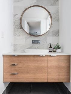 Ideas Bath Room Tiles Marble Floating Vanity For 2019 White Bathroom, Bathroom Interior, Modern Bathroom, Small Bathroom, Bathroom Marble, Bathroom Ideas, Vanity Bathroom, Powder Room Vanity, Marble Interior