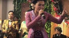 Video: Vicky Shu Jadi Penyanyi di Resepsi Kahiyang-Bobby Tamu Pun Bergoyang