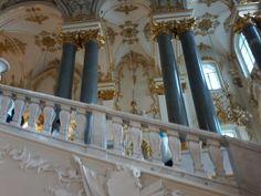 Interior do Museu Hermitage em São Petersburgo ( Rússia )