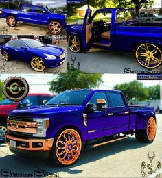 True Blue - Rose Gold /Golden Finish Illustration Jeep Truck, Ford Trucks, Pickup Trucks, Custom Trucks, Custom Cars, Old School Cars, Diesel Trucks, Classic Trucks, Luxury Cars