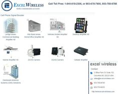 You want to buy Best Cell Phone Signal Boosters, Cell phone signal booster, parabolic antennas, cell phone signal amplifiers, booster for cell phone signal, Cell phone signal boosters for AT & T, signal boosters for cell phone etc. but you don't know where to buy then Excel Wireless is the best trusted place to buy these products. Visit: - https://www.excel-wireless.com/cell-phone-booster