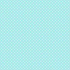 Poá Azul/Branco