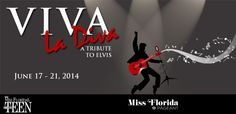 For the 10th year, the City of St. Petersburg will host the annual Miss Florida Pageant when 50 contestants arrive on June 14, 2014 to begin a week of competition and appearances that will conclude with the crowning of Miss Florida 2014 on Saturday, June 21.  Over $60,000.00 in cash scholarships are being awarded to this year's Class of 2014.   http://www.themahaffey.com/show/79th-Annual-Miss-Florida-Pageant/332