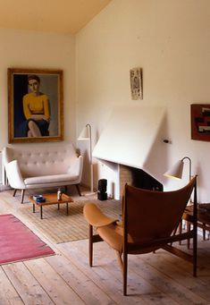 Finn Juhl house - want to visit when I am in Denmark, what an incredible experience that would be