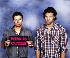 well both are gorgeous, but I am a DEAN girl 100%!!!
