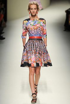Alberta Ferretti Spring/Summer 2014 Ready-To-Wear Collection | British Vogue