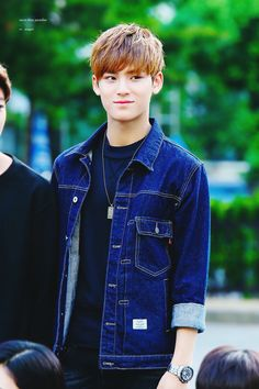 Kim Mingyu from Seventeen's Hip-Hop Unit