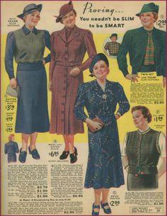 1938 Lane Bryant in color!