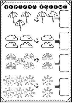 by stephanii - Numbers Preschool, Preschool Printables, Preschool Learning, Preschool Activities, Teaching Kids, Kindergarten Reading Activities, Math Literacy, Kindergarten Math Worksheets, First Grade Math
