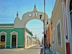 Arco de San Juan en Merida Yucatán!!