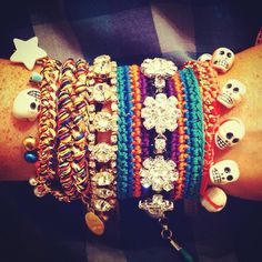 Venessa Arizaga arm party jewelry at The Webster