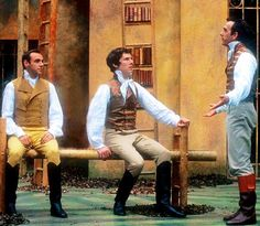 2001 - Benedict Cumberbatch as the King of Navarre in 'Love's Labours Lost' @ Regent's Park's Open Air theatre