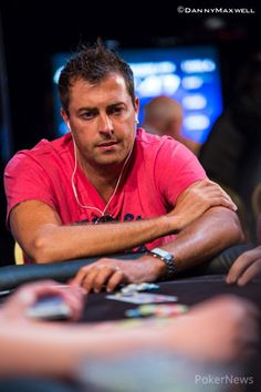 acb6fe0363d Con Collins in the FTP UKIPT Main Event