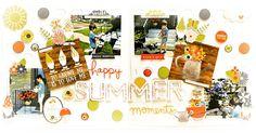 Happy+summer+moments - Scrapbook.com