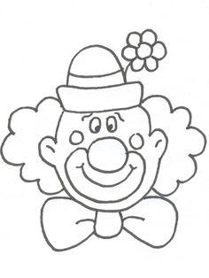 Carnival masks clown