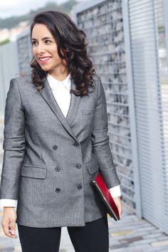 #look #americana #doble #botonadura #mango #street #style #blazer #look #blazer #blog #moda