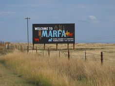 If you haven't heard of Marfa, it's an eclectic, artsy town that is planted in the middle of what-seems to be nowhere.