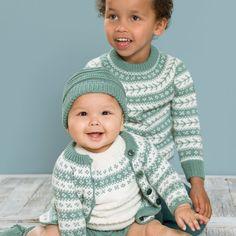 DG359-14 Emma & Emil sommersett | Dale Garn Baby Barn, Knitting For Kids, Knit Crochet, Men Sweater, Turtle Neck, Sewing, Sweaters, Fashion, Tejidos