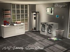 Sims 4 Designs: NS Utility Room Stuff • Sims 4 Downloads