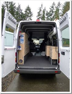 Really good detail on a van conversion. Great water tank, how to do insulation and carpet and a great awning.