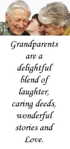 I am so blessed to have the memories with my grandparents. Also blessed to still have one on each side of the family.