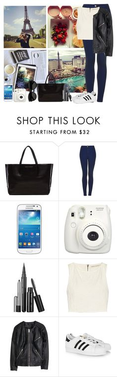 """""""Untitled #266"""" by joana-morais-770 ❤ liked on Polyvore featuring Ampersand As Apostrophe, Topshop, Samsung, Alice + Olivia, H&M, adidas Originals and Yves Saint Laurent"""