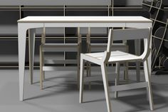 DIO DINING TABLE / CNC ROUTER /  3D DESIGN / PLYWOOD FURNITURE /  유창석www.joinxstudio.com