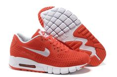 Nike Air Max 90 Current Moire Pour Femme Chaussures De Course Orange Rouge Blanc France Boutique