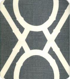 Lattice Bamboo Fabric - modern - upholstery fabric -  - by Lewis & Sheron Fabrics