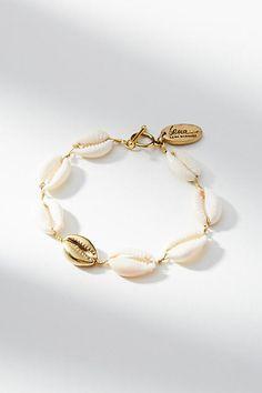 Lena Bernard Cowrie Shell Bracelet