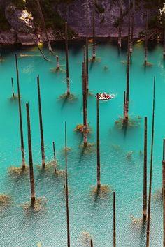 Lake Kaindy | HOME SWEET WORLD