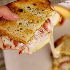 This flavorful, cheesy sandwich will make your dinner dreams come true!