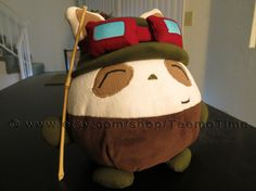 Eliot har spillet LOL Fat Teemo Plush  League of Legends by TeemoTime on Etsy, $88.00