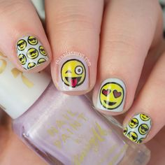 Emoji Nail Art and Some New Kit from MoYou https://www.facebook.com/shorthaircutstyles/posts/1761678504122589