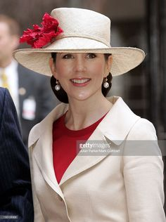 Crown Princess Mary Of Denmark Attends King Carl Gustaf Of Sweden'S 60Th Birthday Celebrations.The Parliaments Lunch At City Hall, Stockholm. . (Photo by Mark Cuthbert/UK Press via Getty Images)