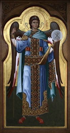 Byzantine Icons, Byzantine Art, Early Christian, Christian Art, Religious Icons, Religious Art, Order Of Angels, Angel Warrior, Archangel Michael