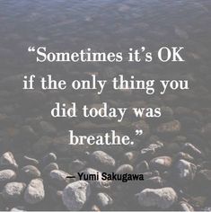 grief meme that says sometimes its ok if the only thing you did today was breathe