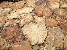 Maple Grove: Building a Field Stone Sidewalk