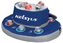 Float around the pool sipping your favorite beverage with the Kelsyus Floating Cooler. This inflatable cooler comes with a zippered top lid so that you can pre-fill the cooler with ice for . Summer Fun, Summer Time, Fun Time, Spring Break, Summer Days, Inflatable Cooler, Floating Cooler, Float Trip, My Pool