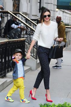 Get outfit inspiration from Miranda Kerr's best street style moments.