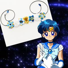 #LUVIT 😍 Mercury Sailor Flower Crown 💙 ALL the Sailors available at KittyKatrina.com in our Inspired Flower Crowns Section 😘🌸💖 #flowerheadband #flowerheadbands #flowercrown #flowercrowns #flowerhalo #floralcrown #floralheadband #flowerchild #flowerchildren #sailormercury #sailormercurycosplay #sailormoon #sailorjupiter #sailorvenus #sailoruranus #sailorneptune #sailorsaturn #sailorpluto #cosplaygirl #cosplay #cosplayer #cosplaycostume #raver #ravecostume #raveoutfit #ravewear…