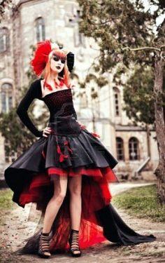 Gothic dress.