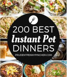 Make a quick & easy dinner with these instant pot recipes. From chicken to beef recipes, there are plenty of delicious instant pot recipes to choose from. Best Instant Pot Recipe, Instant Pot Dinner Recipes, Instant Recipes, Best Meal Prep, Healthy Meal Prep, Crockpot Recipes, Cooking Recipes, Cooking Tips, Delicious Recipes