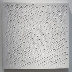 Günther Uecker, 'Weißer Regen,' 1968, Galerie Leu