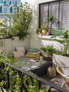 15 inspiring ideas that turn your balcony into a little green- 15 inspirierende Ideen, die aus Ihrem Balkon ein kleines Stückchen Grün machen 15 inspiring ideas that turn your balcony into a small … -
