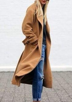 Style - Minimal + Classic Camel coat