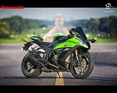Mean & Green || Kawasaki Ninja ZX10R